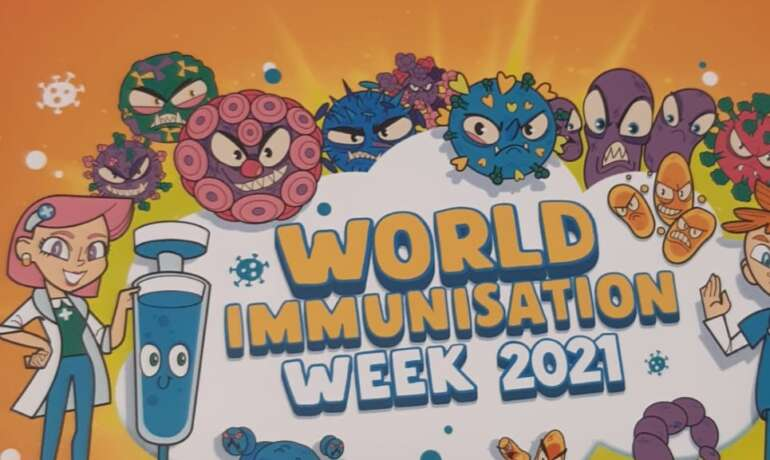 Be Your Own Hero – World Immunisation Week 2021